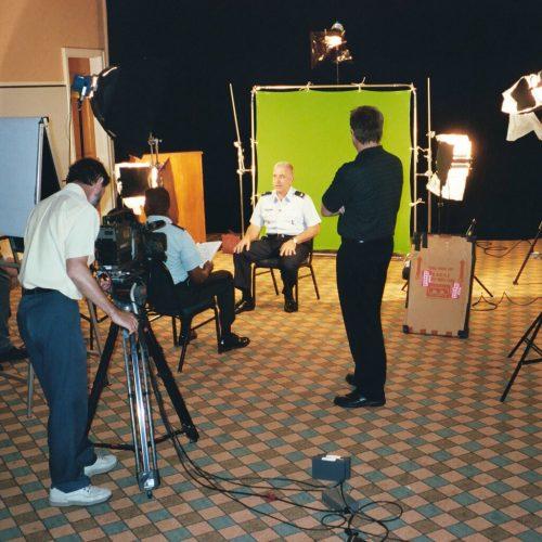 Gemstone Media Green Screen Interview