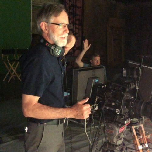 Gemstone Media Producer on Set of Commercial Production